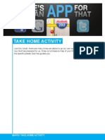 Take Home Activity 9/29