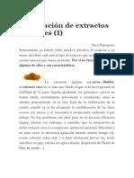 La Filtración de Extractos Vegetales(I)