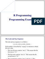 Examples Programming
