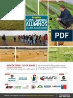 Feria Laboral Estudiantes Agronomía 2014 - Universidad Mayor