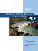VOCABULARIO GEOLOGIA