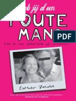 Heb jij al een Foute Man? (inkijkexemplaar) door Esther Jacobs