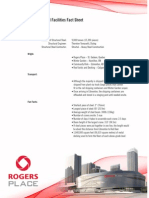 Rogers Place and Related Facilities Fact Sheet Steel