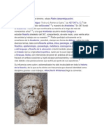 Platon y Pitagoras