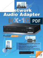 TOA Nx100 Brochure