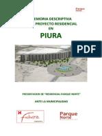 Memoria Residencial Parque_norte
