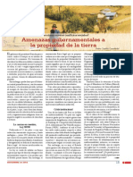 Amenazas gubernamentales a la propiedad de la tierra