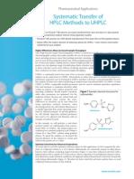 Sistem Transfer of HPLC Methods to UHPLC