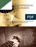 Chitara Si Importanta Ei in Evolutia Muzicii