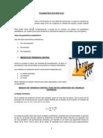 Parámetros Estadísticos 1. Centralización