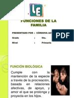 Diapositva Funciones de La Familia