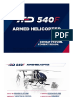 MD 540F Armed Helicopter