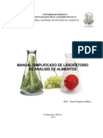 Manual Analisis de Alimentos 2da