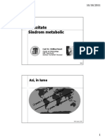 13 - Obezitate, Sd. Metabolic