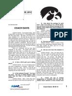 Coach Davis 09 30 14