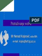 03 Web Pretraga