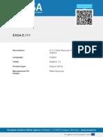 Easa e 111 Tcds Issue 2_trent Xwb