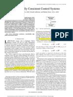Pappas Et Al - Hierarchically Consistent Control Systems - 2000