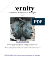 Eternity - a Pre-Thales-Root for Western Philosophy