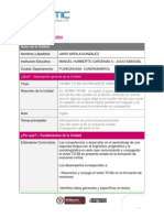 Plan de Unidad Didactica JAIRO