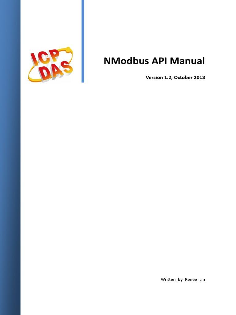 Nmodbus API Manual v1 2 En | Port (Computer Networking) | C