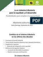 Sistema Tributario Para Equidad y Desarrollo - Sem Fisc & Desarrollo - MJF - Sept 2014