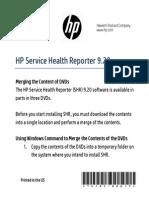 HP SHR 9.20 Reassembly Instructions