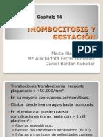 Capitulo 14. Trombocitosis y Gestación