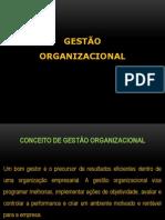 Gestão Organizacional Slide