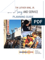 MLK Day of Song & Service Planning Guide