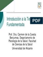 1.1-Introduccion General a La Teoria Fundamentada