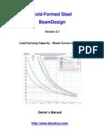 Cold-Formed Steel Beam Design_Manual