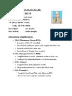 IUB CV-Gen (31.10.09)