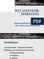 obat anestetik intravena