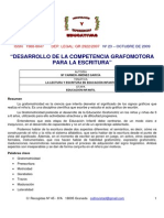 Documento Grafomotricidad