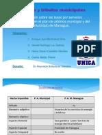 Combinado Presentación Tasas Por Servicios Plan Arbitrios Municipal y Managua