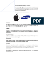 Patentes Del Samsung Galaxy s5 y iPhone 6