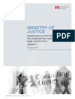PA Consulting Group - Draft report