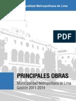 Principales obras de la gestión de Villarán 2011-2014