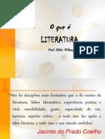 LITERATURA -  QUESTÃO HISTÓRICA.ppt