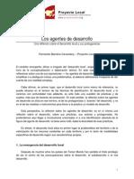 2 Los Agentes Del Desarrollo, Fernando Barreiro, Proyecto Local Org (1)