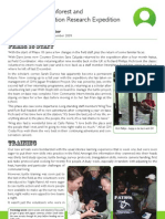 PHASE18 Newsletter Costa Rica Expedition