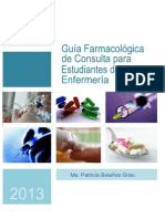 Guia Farmacologica de Consulta Para Estudiantes de Enfermeria 2013