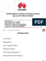 61127999 Implementation Guidelines Amp Quality Processes UPE