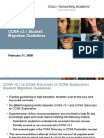 CCNA v3.1 StudentMigrationGuidelines