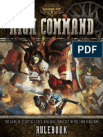 Warmachine HighCommand Rulebook