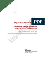 Aspectos practicos de una propuesta de investigacion