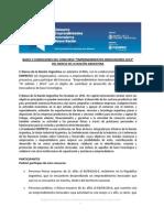 Bases y Condiciones Concurso Emprendimientos Innovadores
