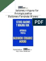 Baldomero Fernández Moreno - Setenta Balcones y Ninguna Flor