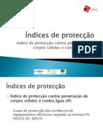 Indice de Proteccao e Classificação Tubos